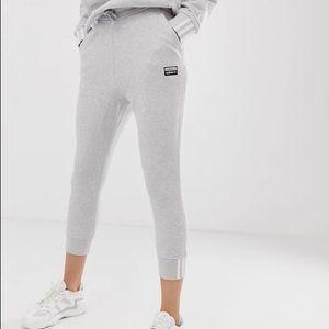 adidas Originals RYV cuffed sweatpants in gray